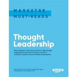 Marketer Must-Reads e-book: Thought Leadership