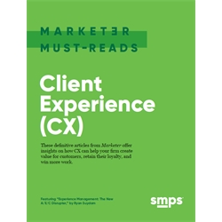 Marketer Must-Reads e-book: Client Experience