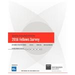 2016 Fellows Survey
